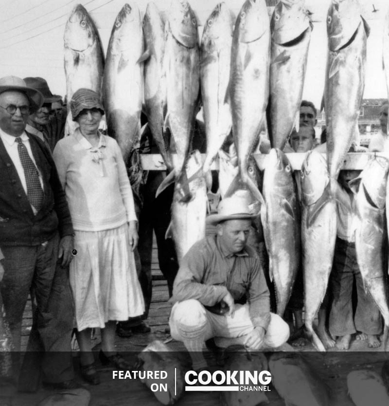 key west fisherman with daily catch black and white historic photo